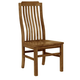 Vaughan-Bassett Simply Dining V/Slat Side Chair (Set of 2) in Antique Amish 230-010
