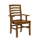 Vaughan-Bassett Simply Dining H/Slat Arm Chair (Set of 2) in Antique Amish 230-021