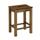 Vaughan-Bassett Simply Dining Island Stool (Set of 2) in Antique Amish 230-050