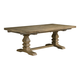 Kincaid Furniture Stone Street Adler Trestle Dining Table in Hand Rubbed 760-760P