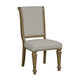 Kincaid Furniture Stone Street Concord Upholstered Side Chair in Hand Rubbed 760-622 (Set of 2)