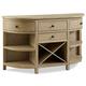 Legends Furniture Hideaway 4 Drawer Server in Orchard Grey ZHID-8075