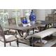 Legends Furniture Laurel Grove Trestle Dining Table in Palmetto Dunes