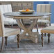 Legends Furniture Laurel Grove Round Pedestal Dining Table in Palmetto Dunes