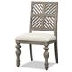 Legends Furniture Laurel Grove Side Chair in Palmetto Dunes (Set of 2) ZLGV-8401