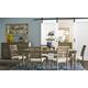 Legends Furniture Laurel Grove 7pc Rectangular Leg Dining Set in Palmetto Dunes