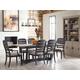 Kincaid Furniture Trails 7pc Denali Dining Room Set in Sandstone