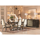 A.R.T Furniture Prossimo 7pc Auguri Oval Dining Set in Walnut