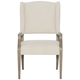Bernhardt Santa Barbara Dining Arm Chair in Sandstone (Set of 2) 385-542