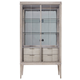 Palliser Furniture Alexandra Display Cabinet in Frosted Ash 760-189