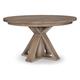 Legacy Classic Breckenridge Round Pedestal Table in Barley Brown 8530-521K