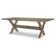 Legacy Classic Breckenridge Rectangular Trestle Table in Barley Brown 8530-620