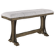 Crown Mark Quincy Counter Height Bench in Light Brown 2831-BENCH