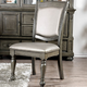 Furniture of America Alpena Side Chair  in Gray (Set of 2) CM3350GY-SC-2PK