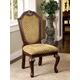 Furniture of America Napa Valley Side Chair in Dark Cherry (Set of 2) CM3005SC-2PK