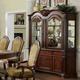 Furniture of America Napa Valley Hutch and Buffet in Dark Cherry CM3005HB
