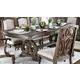 Furniture of America Arcadia Rectangular Dining Table in Rustic Natural Tone CM3150T