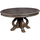 Furniture of America Arcadia Round Dining Table in Rustic Natural Tone CM3150RT