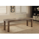 Furniture of America Colette Small Bench in Rustic Osk CM3562BN-S