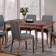 Furniture of America Eindride Dining Table in Natural Tone CM3371T