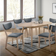 Furniture of America Kochab Dining Table in Natural Tone CM3876OT