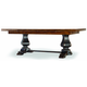 Hooker Furniture Sanctuary Refectory Table - Ebony and Drift 3005-75005; 3005-75006 SALE Ends Aug 15