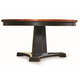 Hooker Furniture Round Pedestal Dining Table in Ebony and Copper SALE Ends May 21