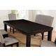 Furniture of America Teagan Dining Table in Dark Walnut CM3911T