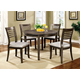 Furniture of America Dwight III Round Table in Gray CM3988GY-RT