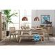 Palliser Furniture Casablanca 6pc Rectangular Dining Room Set in Brown