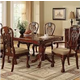 Furniture of America Georgetown Dining Table in Cherry CM3222T