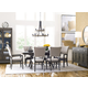 Kincaid Furniture Cascade 7pc Dillon Trestle Dining Set in Sable