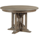 Kincaid Furniture Mill House Manning Round Dining Table in Barley 860-701P