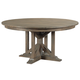 Kincaid Furniture Mill House Rogers Round Dining Table in Barley 860-702P
