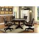 Furniture of America Kalia Game Table in Brown CM-GM347T-1