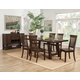 Alpine Furniture Alcott 7-Piece Dining Room Table Set in Tobacco