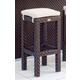 Skyline Design Cuatro Backless Barstool in JB Chocolate 2943