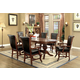 Furniture of America Melina Table in Brown Cherry CM-GM367CH-T