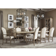 Bernhardt Rustic Patina 9pc Rectangular Dining Set in Sand