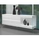 J&M Furniture Cloud Buffet High Gloss in White 176971-HG-B