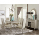 Homelegance Celandine 7pc Dining Room Set in Silver