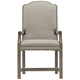 Bernhardt Canyon Ridge Upholstered Arm Chair (Set of 2) in Desert Taupe 397-544