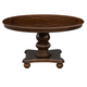 Homelegance Lordsburg Round Dining Table in Brown Cherry 5473-54*