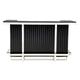 Emma Mason Signature Modern Home Bar in Galaxy Black WL-0069