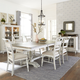 Liberty Furniture Whitney 7pc Trestle Dining Room Set in Weathered Gray CODE:UNIV20 for 20% Off