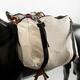 Basic Cotton Canvas Saddle Bags