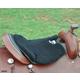 Cashel Western Long Fleece Tush Cushion Black