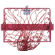 Hay Hoops Original Collapsible Wall Feeder w/Net R
