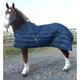 Snuggie Quilted Draft Stable Blanket 98In Navy/Hun