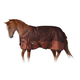 Tough-1 1200D Snuggit Tooled Leather Blanket 84 Br